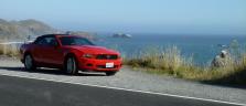 Pazifik und Mustang