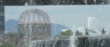 Der 'A-Bomb Dome' im Peace Memorial Park in Hiroshima