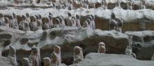 Die weltbekannte Armee der Terracotta-Soldaten bei Xian