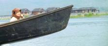 Volle Fahrt voraus im Boot auf dem Inle Lake