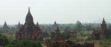 Die unendliche Pagodenlandschaft von Bagan